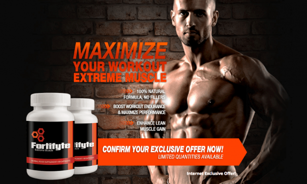 Fortifyte Extreme Muscle Review: New Pre-Workout Muscle Builder