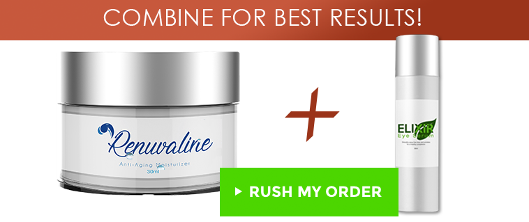 Renuvaline cream and elixir eye serum combo offer image