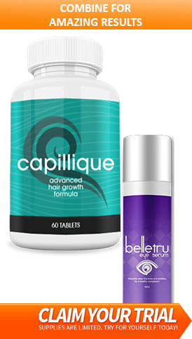 Capillique and belletru combination offer promotional image