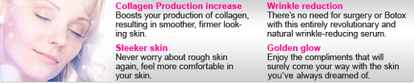 TryVix Anti Wrinkle Cream Primary Benefits Image.